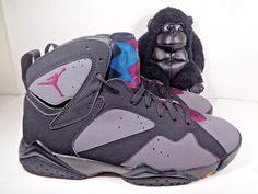 e65b5a52aca Mens Nike Air Jordan Retro VII 7 Bordeaux OG Light Graphite 304775-034 Size  10