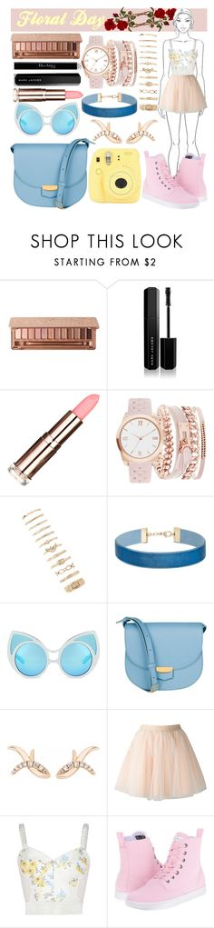 """Foral Day"" by alita210100 on Polyvore featuring moda, Marc Jacobs, American Exchange, Miss Selfridge, CÉLINE, Fujifilm, Sho, Moschino, STELLA McCARTNEY y Dr. Martens"