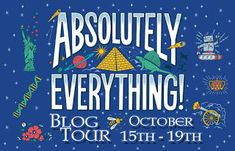 Chat with Vera: Special book launch blog tour: Absolutely Everythi... History Of Earth, Absolutely Everything, Book Launch, Dinosaurs, Robots, Giveaways, Product Launch, Tours, Children