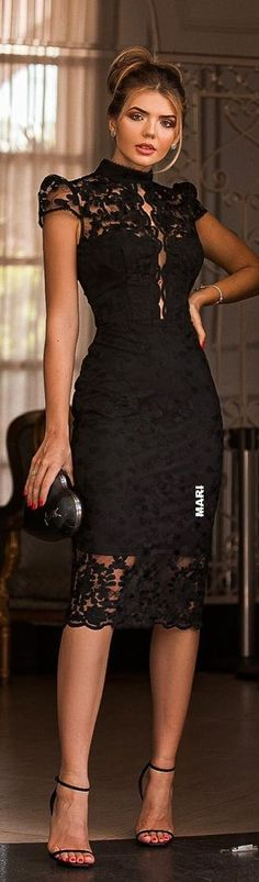 Chic Outfits, Dress Outfits, Fashion Dresses, Dress Up, Elegant Outfit, Elegant Dresses, Plus Dresses, Short Dresses, Lace Dress Styles