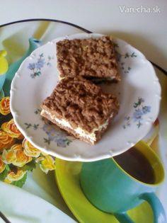 Strúhaný tvarohový koláč (fotorecept) - Recept