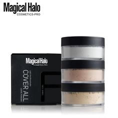 Magic Halo Waterproof Face Foundation Powder (3 Colors)