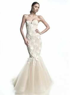 "Rafael Cennamo ""Elle"" - White Couture Fall 2014"