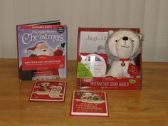 Hallmark's Interactive Story Buddy, Recordable Storybook and Interactive Greetings Review and Giveaway - Ends 11-27-12 ~ Quick Tattletails