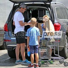 Shopping. Labor Day #MattBomer #family #losangeles