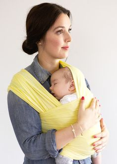 Buttercream - Solly Baby  - baby carrier / baby wrap #giftidea