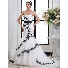 Trumpet/Mermaid Sweetheart Tulle wedding dress – GBP £ 84.51