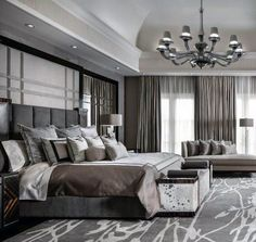49 Lovely Classical Bedroom Interior Design - Modern Home Design Elegant Bedroom Design, Luxury Bedroom Design, Master Bedroom Interior, Elegant Home Decor, Luxury Home Decor, Home Decor Bedroom, Modern Bedroom, Home Interior Design, Bedroom Ideas