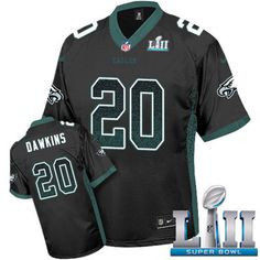 4648d5fd6 Nike Eagles  20 Brian Dawkins Black Alternate Super Bowl LII Men s Stitched  NFL Elite Drift. Eagles ColorsPhiladelphia Eagles GearEagles ...