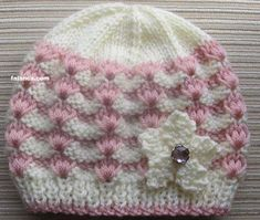 Crochet Owl Hat Pattern Ba Hat Knitting Patterns Straight Needles My Crochet Owl Blanket Baby Hat Knitting Pattern, Baby Hats Knitting, Knitting For Kids, Crochet For Kids, Free Knitting, Knitted Hats, Crochet Patterns, Hat Patterns, Crochet Owl Hat