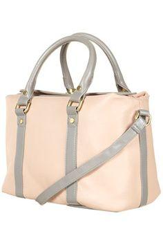 TOPSHOP - Contrast Toplock Holdall Bag