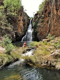Cachoeira da Caverna, Chapada dos Veadeiros - GO