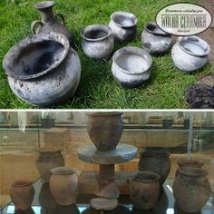 Medieval dishes.