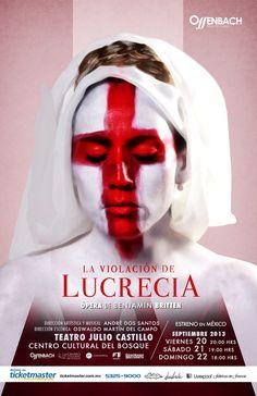 La violación de Lucrecia. 20, 21 y 22 de septiembre.