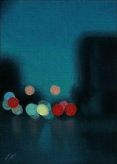 Stephen Magsig, Capturing Urban Landscapes in Oils