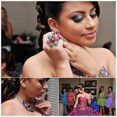 ❝Getting Ready❞ Quinceanera photo ideas  \\ Photo Credit: Del Mar Photography Blog