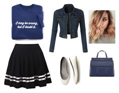 """Untitled #19"" by arminaa7 ❤ liked on Polyvore featuring LE3NO and Tory Burch"