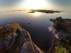 Arrived in Stockholm archipelago: Inre Hamnskär