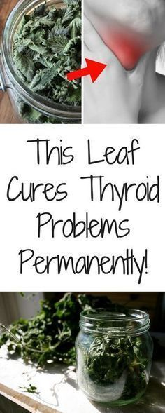 This Leaf Cures Thyroid Problems Permanently! #Naturaltreatmentsforanunderactivethyroid