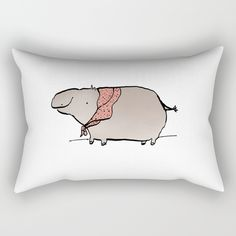 Check out society6curated.com for more! @society6 #illustration #home #decor #homedecor #interior #design #interiordesign #buy #shop #shopping #sale #apartment #apartmentgoals #sophomore #year #house #fun #cool #unique #gift #giftidea #idea #pillows  #hippo #animal #animals #pink #grey #gray #drawing #cute #adorable #toocute