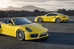 Porsche 911 Turbo & Turbo S 2016