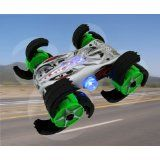 Night Dispatcher Remote Control RC Stunt Car   Perform Flips, Wheelies, Spins with Claw Wheels (Toy) newly tagged rc