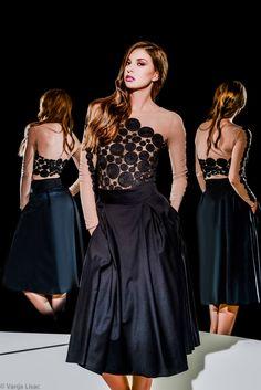 RTW S/S 2015 - Hand made Bodysuit with elegant black skirt