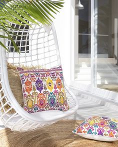 How pretty are these cushions from @the_boho_bungalow only 8 available on her newly refreshed website Photographed & Styled by me @villastyling  #villastyling #bohemian #bohochic #boholuxe #decor #design #decorate #interiordesign #interiorstylist #stylist #style #byronbay #byron @picadillyhouse on location collaboration shoot  @byronbayhangingchairs by villastyling