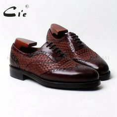 cie round toe wingtips brown weave mixed colors 100%genuine calf leather men's shoe goodyear welt bespoke leather man shoe OX540  Price: 298.35 & FREE Shipping  #hashtag1 Calf Leather, Leather Men, Men's Shoes, Dress Shoes, Goodyear Welt, Brown Shoe, Color Mixing, Bespoke, Calves