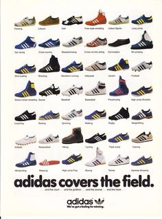 Vintage shoes addidas