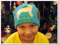 Beanies for Baldies: For every $5 beanie your purchase, Preston will make FOUR hats to send to a children's hospital. I know 3 kids who will be sporting beanies very, very soon!