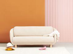 Joanna Laajiston suunnittelema Bobo Wool -sohva. Sofas, Couch, Wool, Projects, Furniture, Collection, Home Decor, Style, Couches
