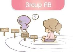 AB Blood type Ab Blood Type, Blood Types, Personality Types, Psychology, Abs, Family Guy, Psicologia, Crunches, Abdominal Muscles