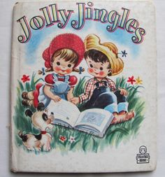 """Tell-a-Tale edition of Jolly Jingles"" by Florence Bibo Alexander and illustrated by Ben Williams. Published by the Whitman Publishing Co, 1949"