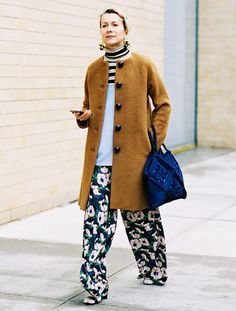 Fashion Insiders Who Make Cold-Weather Dressing Look Easy via @WhoWhatWear