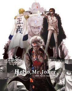 Trafalgar D Water Law Corazon Cora-san Donquixote Rosinante Donquixote Doflamingo Joker Donquixote Brothers One Piece