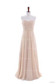 disney wedding Fashionable A-line empire waist chiffon dress for bridesmaid $134.8