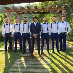 Discover recipes, home ideas, style inspiration and other ideas to try. Groomsmen Attire Suspenders, Rustic Groomsmen Attire, Blue Groomsmen Suits, Casual Groom Attire, Rustic Wedding Groomsmen, Wedding Suits, Men Wedding Attire, Marie, Blue Beach