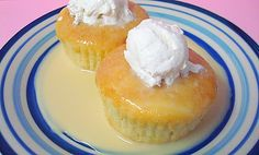 Skinny Tres Leches CupCake Recipe  by seesuestitch: All the goodness without the calorie suicide. #Tres_Leches_Cupcake #seesuestitch