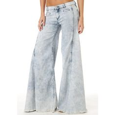 Extreme flare vintage jeans