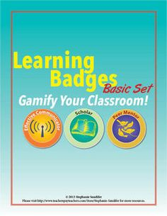"""What do Foursquare, video games, and the Boy Scouts & Girl Scouts have in common, and how can their """"system"""" increase motivation and engagement in your classroom? Click here to find out! (Includes Edmodo badges!)"""
