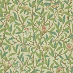 John Lewis Morris & Co. Choose from a great range of Morris & Co. Including William Morris Wallpaper, Morris & Co Wallpaper, and Golden Lily. Free UK mainland delivery when you spend and over. Cream Wallpaper, Feature Wallpaper, Bird Wallpaper, Kitchen Wallpaper, Wallpaper Online, Print Wallpaper, Fabric Wallpaper, Wallpaper Designs, Hall Wallpaper
