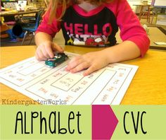 Developing phonemic awareness - KindergartenWorks ...finding fun, new ways to help students make connections between the visual forms of letters and their sounds… not to mention helping them grow quickly to blends and digraphs {onto cvc and beyond}.