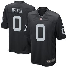 decc42093dc Jordy Nelson Oakland Raiders Nike Game Jersey – Black