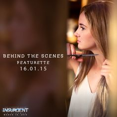 Want to see an exclusive first look at Tris' transformation in ‪#‎Insurgent‬? A new behind-the-scenes featurette is launching Thursday with Yahoo, and will be posted on the #Divergent Facebook page on Friday! www.facebook.com/DivergentSeriesAustralia #ShaileneWoodley