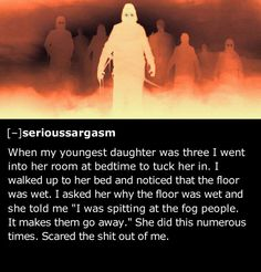 SPOOKY! 25 of the Creepiest Things Kids Have Told Their Parents!