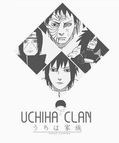 The Uchiha clan~ Itatchi Uchiha, Madara Uchiha, Obito Uchiha, and Sasuke Uchiha~
