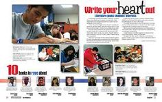 academic spreads for yearbook - Google Search