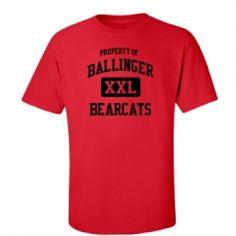 Ballinger High School - Ballinger, TX | Men's T-Shirts Start at $21.97