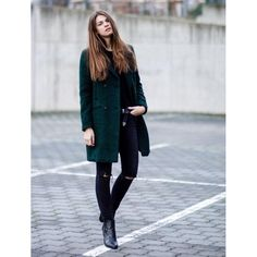 Green Coat by Whaelse.com